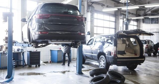 自動車整備工場実績イメージ