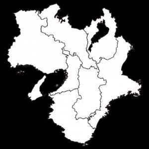 近畿地方シルエット